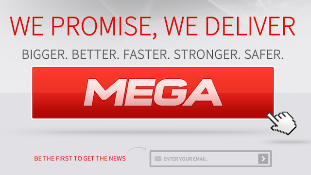 "Megaupload's New Website Is Me.ga By Casey Chan Kim Dotcom just announced where Megaupload will be reborn: Me.ga. As in, that's the new file sharing website that will officially launch on January 20th next year. Go check it out.[[MORE]] Right now, it's only a splash page that's up at me.ga but it describes how Mega will work, details how to become a hosting partner and how to become a Mega API partner and asks for investors as well. So how is the new me.ga different from the old and fed-killed Megaupload? All the data is encrypted by Mega so that ""you hold the keys to what you store in the cloud, not us."" Basically, it's going to be different because Mega literally won't know what you upload. Can't wait to see it in action when it launches on January 20th. [Me.ga]"