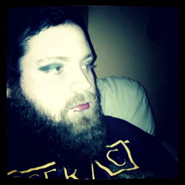 Prettiest bearded lady on the planet.