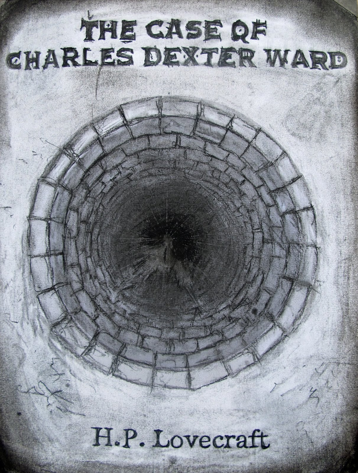 The Case of Charles Dexter Ward by H.P. Lovecraft. Cover by Mykul Craughwell.