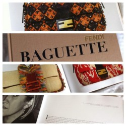 New coffee table book. This bloodi thing is heavy ass! #Fendi #baguette #book #hardcover #picstitch #fashion