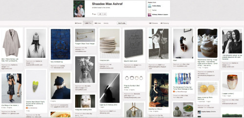 I've been away…you can find me regularly here: http://pinterest.com/shaadee/pins/ Pinterest: shaadee mae