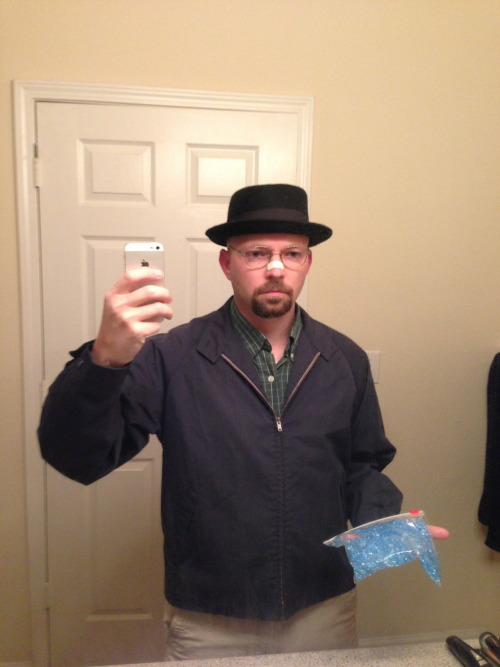 Me as Heisenberg/Walter White for Halloween