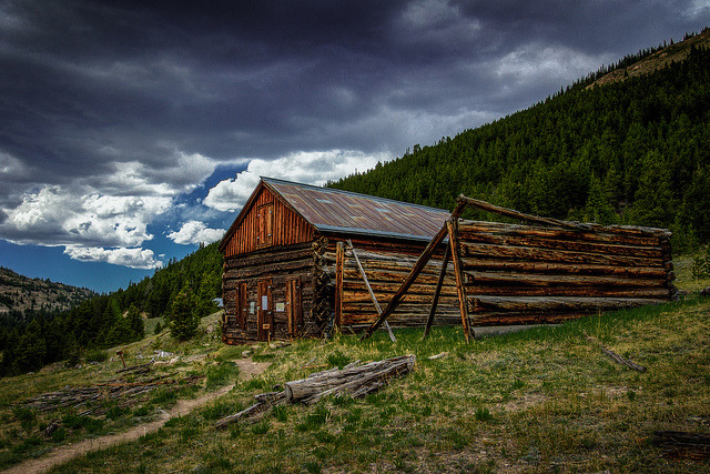 "General Store - Independence Ghost Town on Flickr.Via Flickr: Here is the General Store at the Independence Ghost Town. ""There is only speculation that the building on the right of this path was a General Store, but the large scale and spacious layout suggest that it was used to supply the miners with the necessities of life at 10,900 feet."" - via: www.heritageaspen.org/indtour.html [www.tobyharriman.com] [facebook] [Google+] [Tumblr] [Twitter] [redbubble]View on Black"