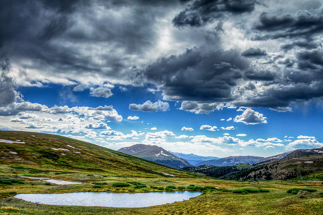 Little Pond - Independence Pass on Flickr.Via Flickr: [www.tobyharriman.com] [facebook] [Google+] [Tumblr] [Twitter] [redbubble]View on Black