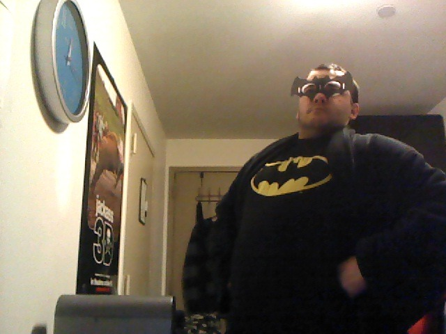 I have failed in my duty as BatDan to protect the good people of Midwood from looters and polluters this Halloween. So here I sit, shaming myself. With cheddar fries. Actually, this isn't so shameful. But here's what you would've seen had I decided to actually leave my room this Halloween.