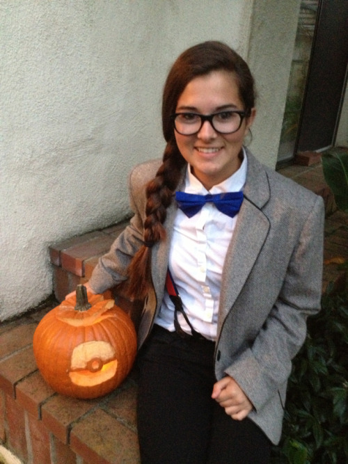 classybowties:  So my costume minus the fez (: No one knew who I was, but oh well it's always fun to keep people guessing