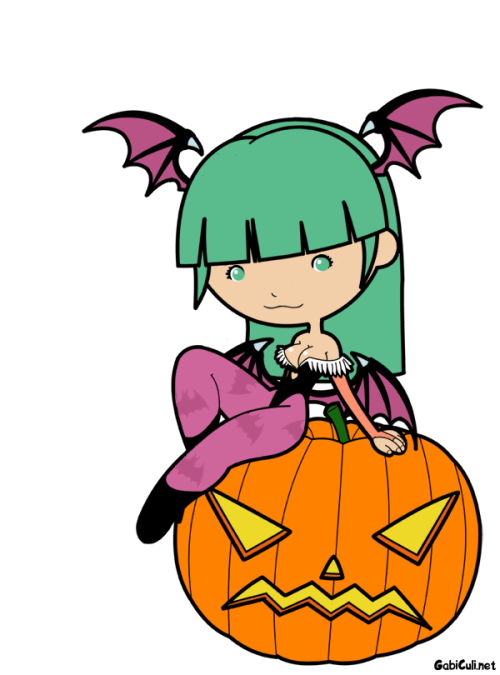 Morrigan Aensland du jeu de combat Darkstalkers (et Marvel vs. Capcom, Tatsunoko vs. Capcom…).