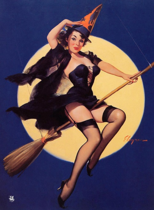 Gil Elvgren - Riding High (1958)