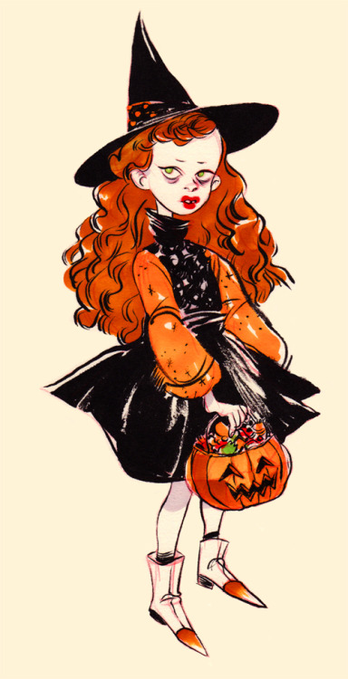 "Totally reminds me of Dani from ""Hocus Pocus"". :)"
