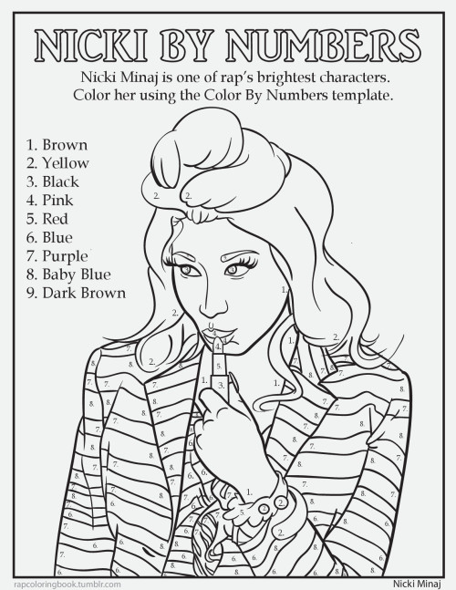 rapcoloringbook:  Click here to download this page. Print it out. Complete the activity. Color it. Listen to this while you do so. Rap Coloring Book on Twitter