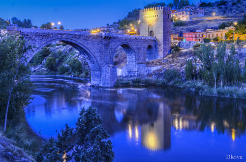Puente de San Martin (Toledo, Spain) on Flickr.A través de Flickr:dleiva.com