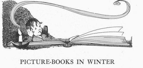 Picture books in winter  by Myrtle Sheldon
