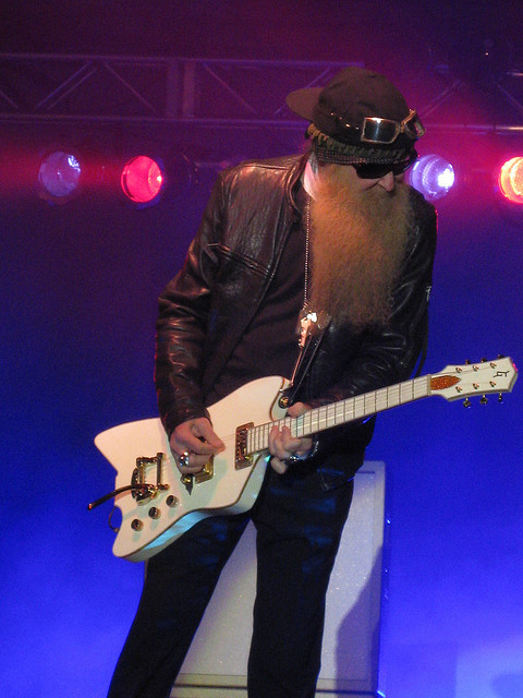 box-from-pandora:  Billy Gibbons by semajit on Flickr.