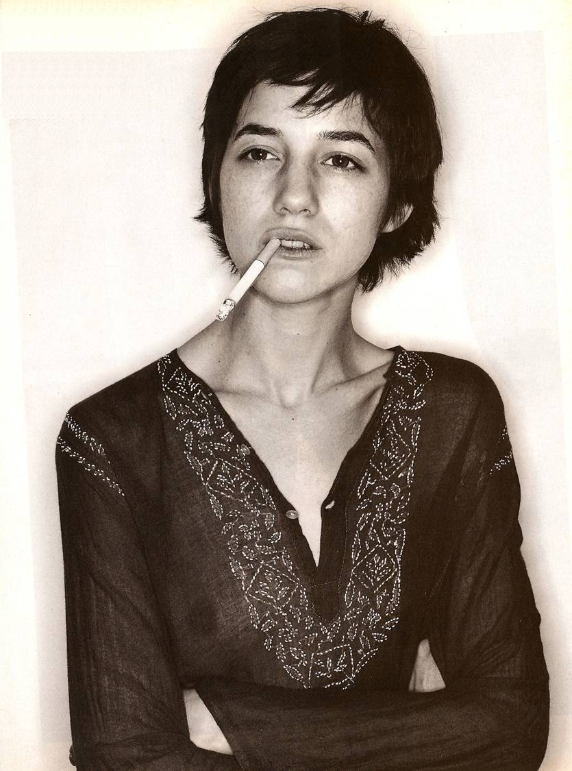 danishprinciple:  Charlotte Gainsbourg by Jürgen Teller ● Glamour Magazine France (June 1994)