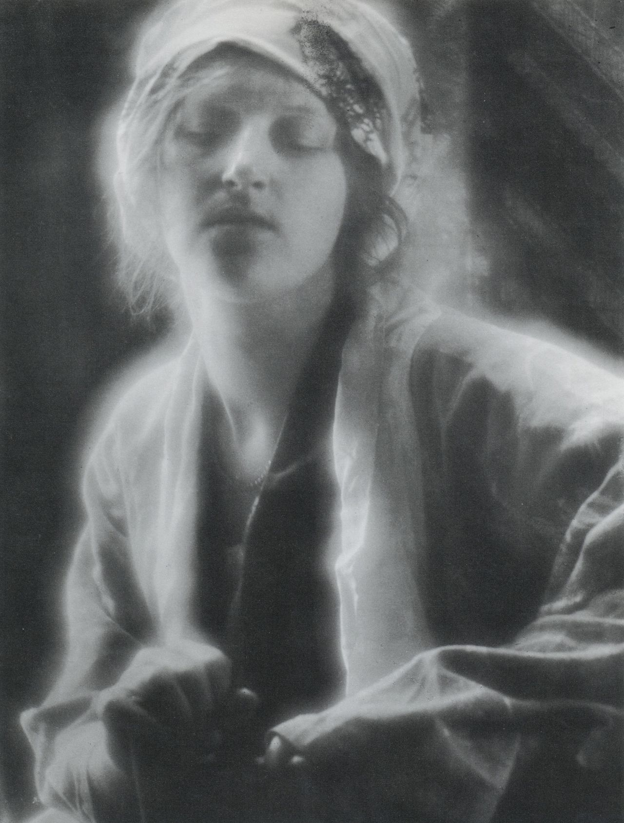 liquidnight:  Imogen Cunningham The Dream, 1910 Gelatin silver print From Imogen Cunningham 1883 - 1976