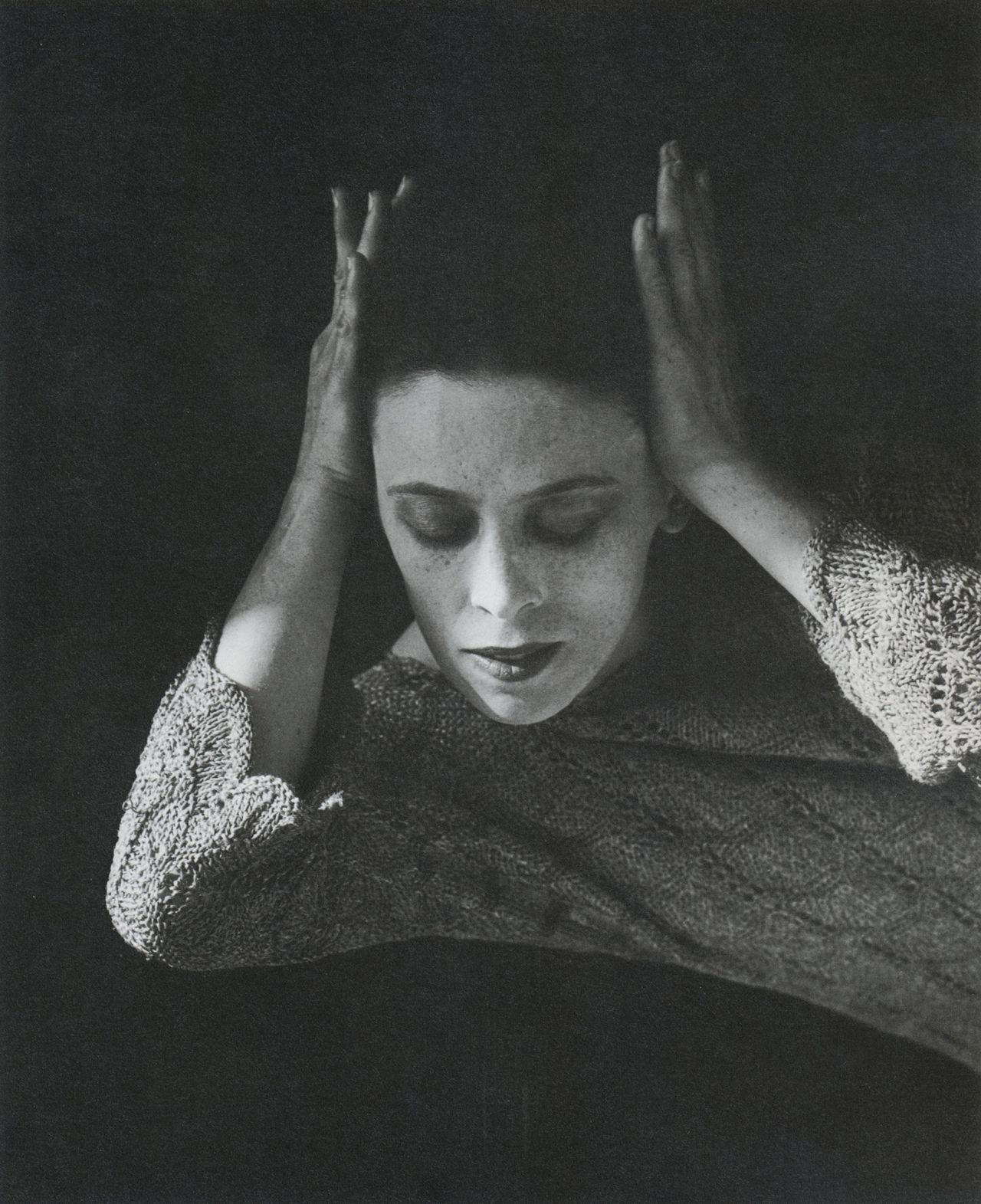 liquidnight:  Imogen Cunningham Martha Graham, Dancer, 4, 1931 From Imogen Cunningham 1883 - 1976
