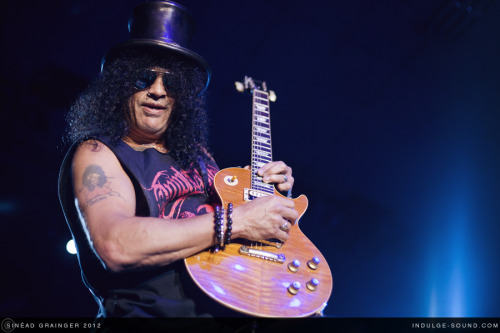 Slash. Corn Exchange, Edinburgh. 7th October 2012. Click photo to check out the full set on Indulge Sound. Tumblr | Twitter | Flickr