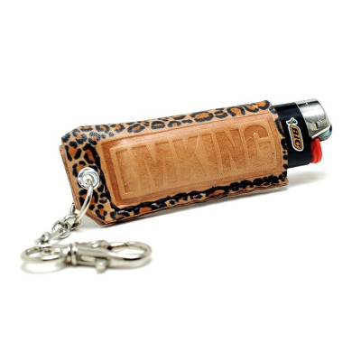 "IMKING x LEEF & CO ""Leopard"" Lighter Holders Dropping this Saturday Online and at the Flagship.  Hand Crafted."