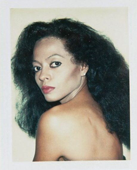Who's prettier? Andy Warhol Vs Diana Ross. Do I even have to ask…