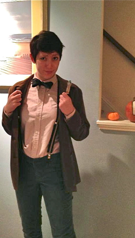 thisisanoutlet:  Me as eleven…  nice rule 63 Eleventh Doctor.