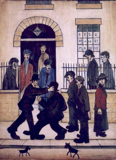 Happy birthday L.S. Lowry!