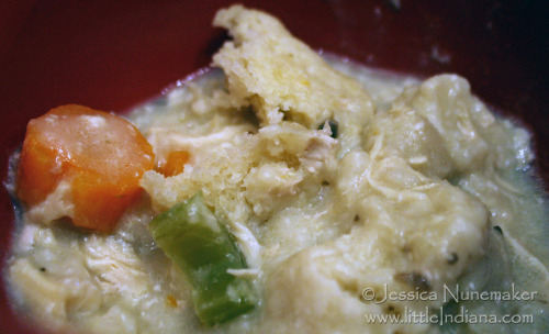 Slow Cooker Chicken and Dumplings. Comfort food!