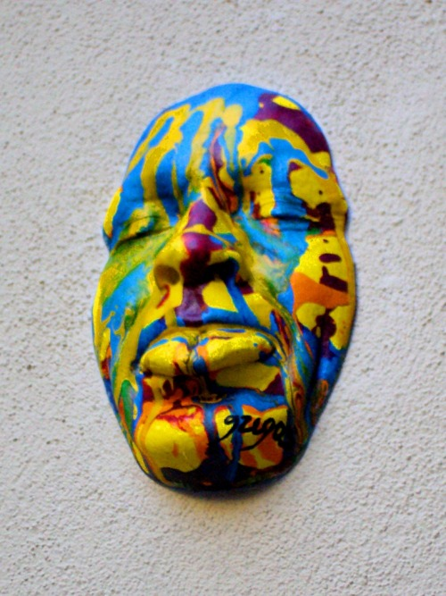 Psychedelic mask, by Gregos