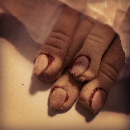 #halloween #fingers #food