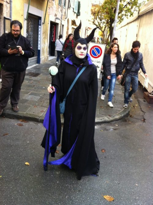 Maleficent! #luccacomics #luccamovie #lcg2012