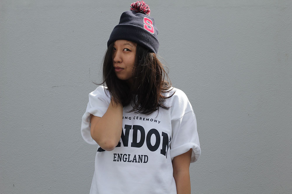 I finally got my hands on that Opening Ceremony London sweater tee. Photo: James K Lowe.