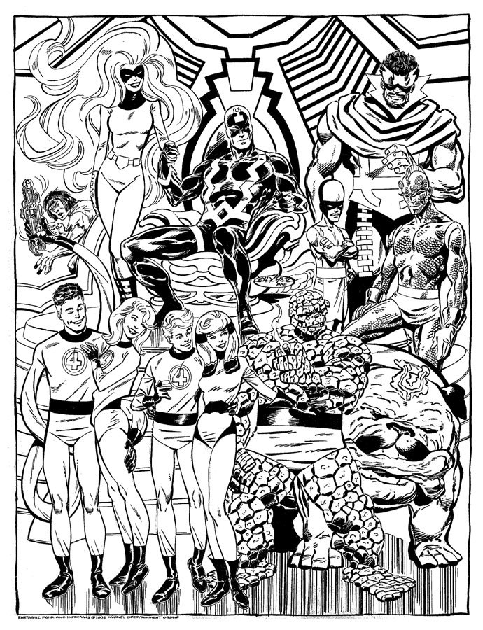 The Fantastic Four and the Inhumans by John Byrne