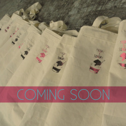 Coming soon, new design, new tote bags!