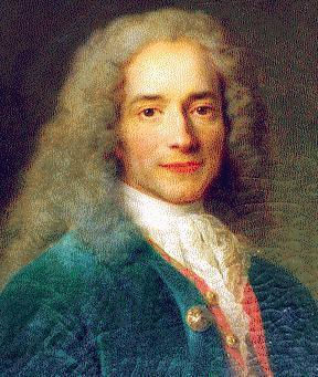 thedailycosmos:  Happy 318th Birthday, Voltaire!