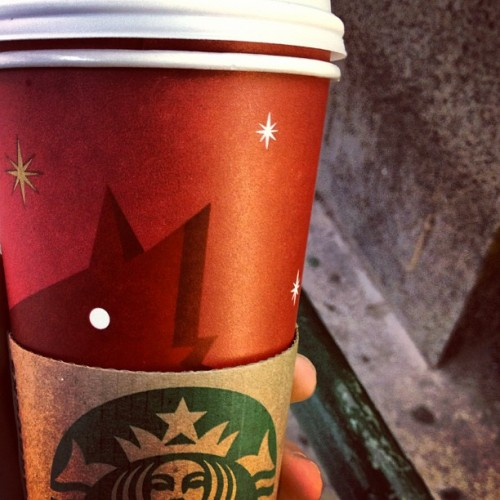 luckymag:  Here come the holidays. (It's never official until @starbucks says so)