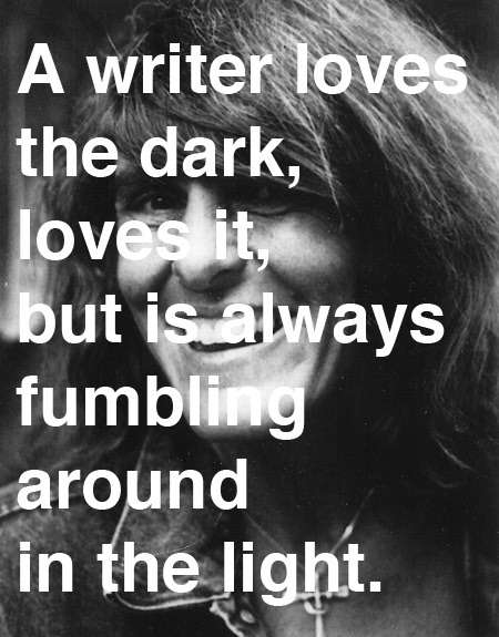 explore-blog:  Joy Williams on why writers write.