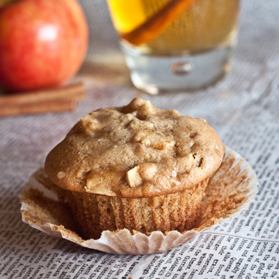 apple cider muffins click here for recipe