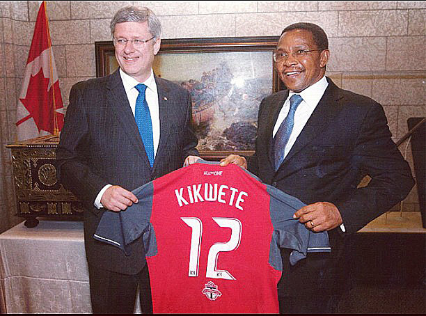 Canada gifted Tanzania with a custom Toronto FC shirt. Tanzania responded by immediately breaking off diplomatic relations.