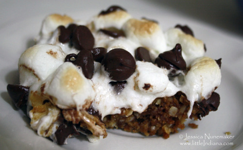 Another variation on S'mores? I can't help myself!