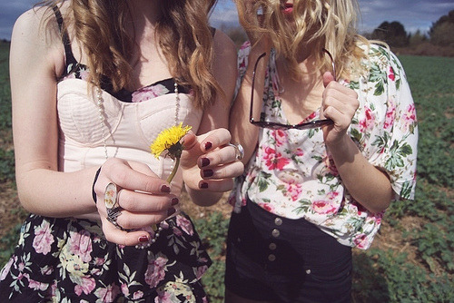 Clothes,Cute,Fashion,Floral,Girls,Nature,Skinny,Sun,Vintage,