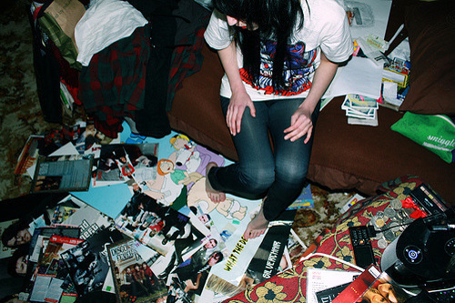 Emo,Fashion,Girl,Mess,Photography,Room,