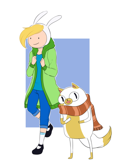 also fionna and cake o3o;