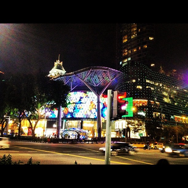 #SG #orchard #road #night #lights  (at Orchard)