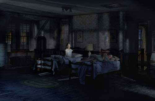 artpedia:  Gregory Crewdson - Untitled (from the series Beneath the Roses), 2003-08. Digital C-prints.