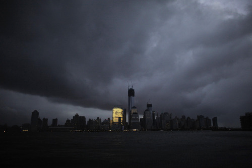 theatlantic:  The Hideous Inequality Exposed by Hurricane Sandy  Divides between the rich and the poor are nothing new in New York, but the storm brought them vividly to the surface. There were residents like me who could invest all of their time and energy into protecting their families. And there were New Yorkers who could not. Those with a car could flee. Those with wealth could move into a hotel. Those with steady jobs could decline to come into work. But the city's cooks, doormen, maintenance men, taxi drivers and maids left their loved ones at home.  Read more. [Image: Reuters]  Yup. This. THIS VERY LOUDLY.  $120 to get back home. $120 that I really couldn't spare. It will mean going hungry by the end of this month.