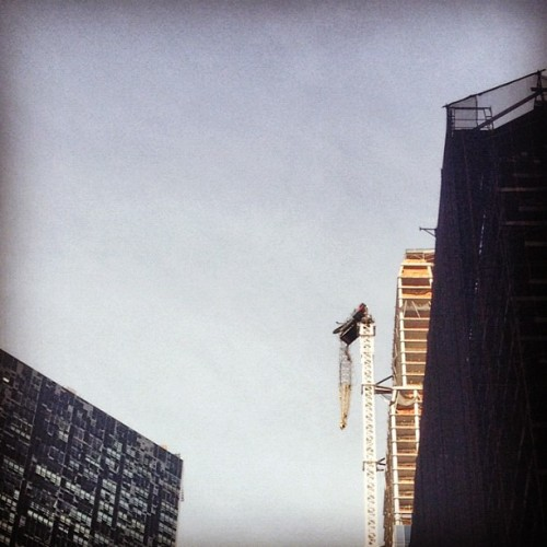 #sandy was here (at The Crane)