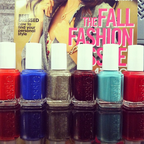teenvogue:  Say hello to Essie's winter collection!  Photographed by Lauren Drago  SO BEAUTIFUL ~~~ *O* ~~~~~~~~~~ i want this now ~~~~ *****
