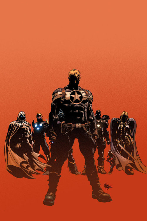 sliander:  Secret Avengers 05: Colors by Mike Deodato Jr.