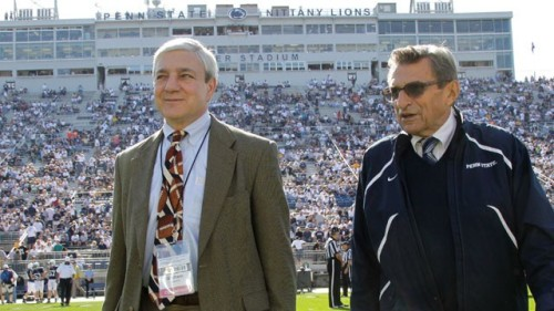Former Penn State president Graham Spanier will face perjury charges, as  a result of the testimony he gave during the Jerry Sandusky trial, according to a new report from the Pittsburgh Post-Gazette. Unidentified sources told the paper that Spanier, who was fired from Penn State after 16 years as president, has been under investigation for statements he made before a grand jury in 2011. Pennsylvania Attorney General Linda Kelly and state Police Commissioner Frank Noonan will hold a press conference this afternoon to discuss the case in more detail. (Photo via AP/Gene J. Puskar/ABC News) source