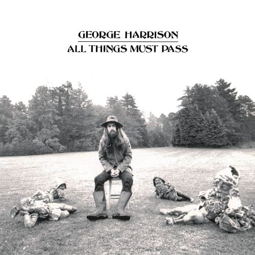 muckshyeahalbumart:  All Things Must Pass (1970) George Harrison Photography by: Barry Feinstein  [Apple]