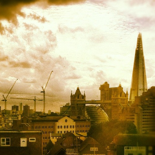 View from the office. #Shard #Towerbridge #Work